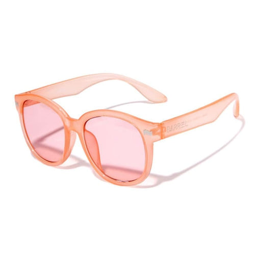 Barrel Round Sunglasses-ORANGE TINT - Orange Tint - Sunglasses