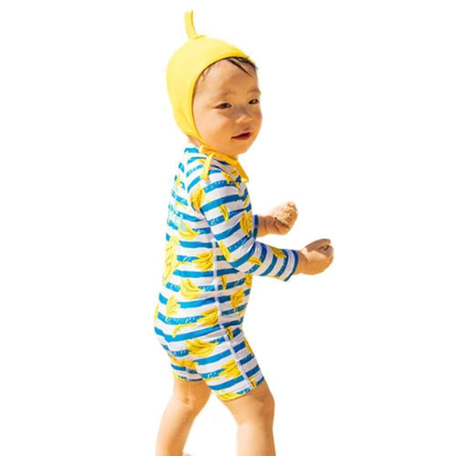 Barrel Toddler Rash Suit Set-BANANA SPRINT - Rash Suit Sets