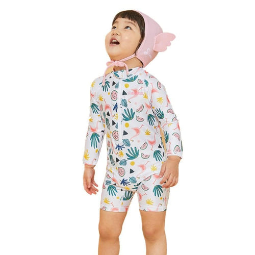 Barrel Toddler Rash Suit Set-SUMMER FLAMINGO - S / Summer Flamingo - Rash Suit Sets