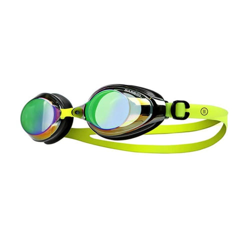 BARREL Training Swim Goggles-AQUA/NEON YELLOW - OSFA / Neon Yellow - Swim Goggles | BARREL HK