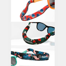 Barrel Tube Floating Strap-EMERALD JUNGLE - Sunglass Straps