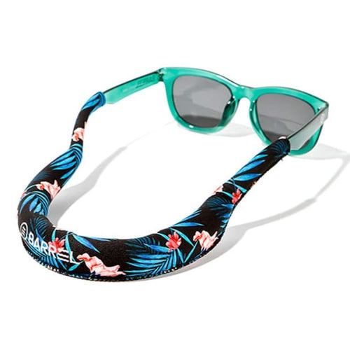 Barrel Tube Floating Strap-INDIGO LEAF - Indigo Leaf - Sunglass Straps