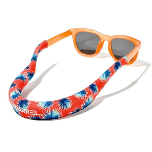 Barrel Tube Floating Strap-ORANGE PALM - Orange Palm - Sunglass Straps