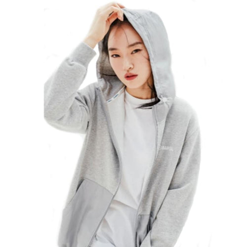 BARREL Unisex Combi Hoodie Zip Up-GREY - S / Grey - Hoodies & Sweaters | BARREL HK