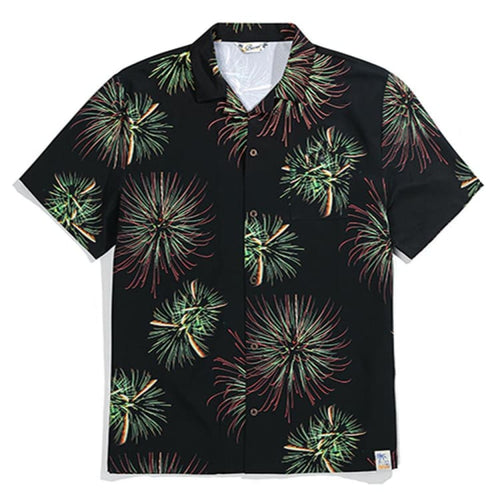 Barrel Unisex Holiday Shirt-FLAME [Family Matching Wear] - S / Flame - Shirts | BARREL HK