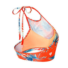 Barrel Womens Mesh Halter Activi-Kini-ORANGE PALM - Bikinis