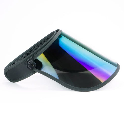 Headwear / Visors: BLUESTONE SUN SHIELDS Full Lux Shield - Rainbow - BLUESTONE / OSFA / Rainbow / 2020, Accessories, BLUESTONE SUN SHIELDS,