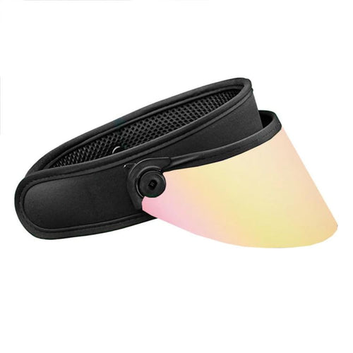 Headwear / Visors: BLUESTONE SUN SHIELDS Shorty Lux - Rose Gold - BLUESTONE / OSFA / Rose Gold / 2020, Accessories, BLUESTONE SUN SHIELDS,