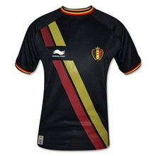 Jerseys / Soccer: Burrda National Team 2014 World Cup Belgium (A) S/s Jersey - Burrda / S / Black / 2014 Away Kit Belgium Belgium (World