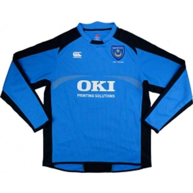 Jerseys / Soccer: Canterbury Portsmouth 08/09 (H) Gk L/s - S / Blue / Blue Clothing Football Goalkeeper Jerseys | Ochk-Sfalo-Kpeng35080H-1