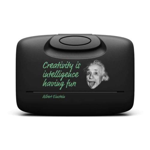 Cases / Card Holder: Capsul Case: Einstein Quote Garphic - Capsul / Einstein Quote In Basic Black / Accessories Accessory Cases Capsul Cases