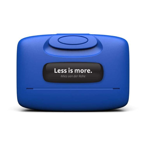 Cases / Card Holder: Capsul Case: Less Is More In Electric Blue - Capsul / Less Is More In Electric Blue / Accessories Accessory Cases