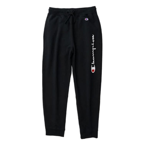 Pants / Jogger: Champion Genuine Sweatpants Black - C3-N211 [Japanese Version] - Champion / M / Black / Black Champion Clothing Land