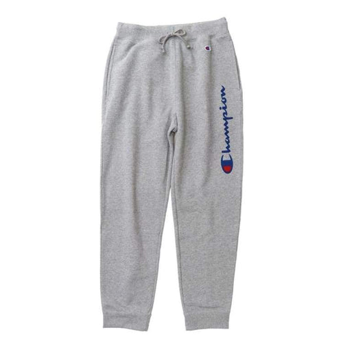 Pants / Jogger: Champion Genuine Sweatpants Oxford Gray - C3-N211 [Japanese Version] - Champion / S / Oxford Gray / Champion Clothing Land