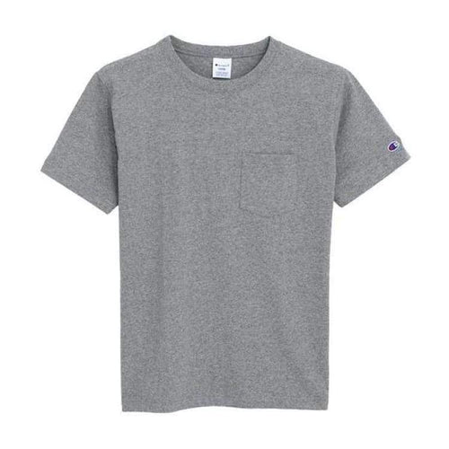 Tees / Short Sleeve: Champion Pocket S/s Basic Logo Tee C3-K340 - O.grey [Japanese Version] - Champion / O.grey / M / Basketball Champion