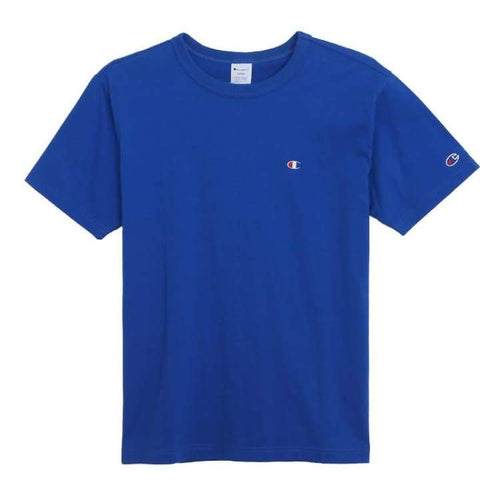 Tees / Short Sleeve: Champion S/s Basic Logo Tee C3-H359 - Royal [Japanese Version] - Champion / Royal Blue / M / Basketball Champion