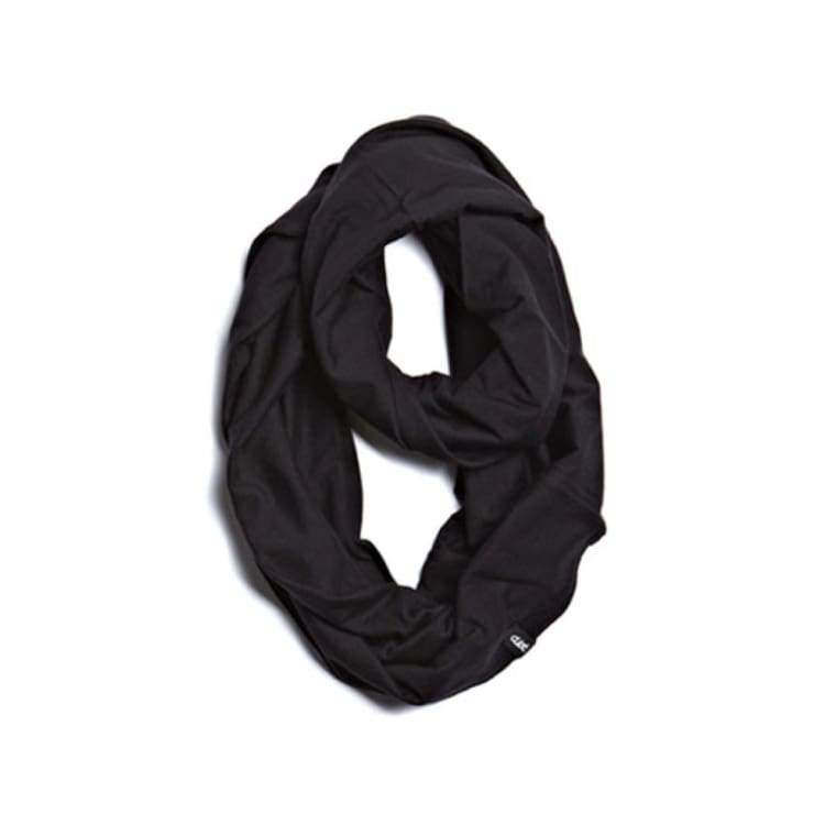 Neckwear / Scarves: Clast Circle Scarf - 3Color [W12-400] - Clast / Black / Accessories Black Clast Head & Neck Wear Ice & Snow |