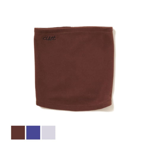 Neck Warmers: Clast Fleece Neckwarmer - 3Color [W14-101] - Accessories Apricot Blue Brown Clast | Ocjp-Yorozwagon-W14-101