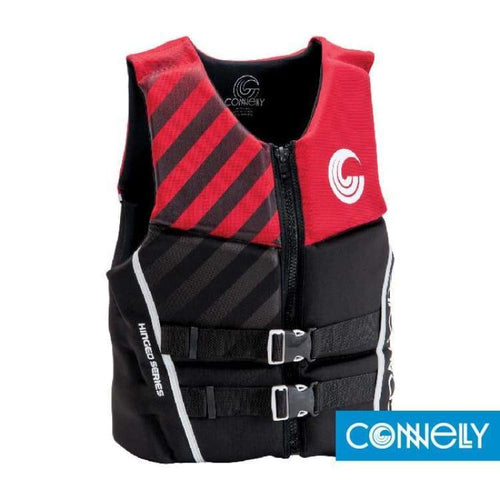 Lifevests / Approved: Connelly Mens Classic Neo - M / Connelly / Black/red / Black/red Connelly Gear Lifevest Lifevests / Approved |