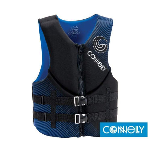 Lifevests / Approved: Connelly Mens Promo Neo - Black/blue Connelly Gear Lifevest Lifevests / Approved
