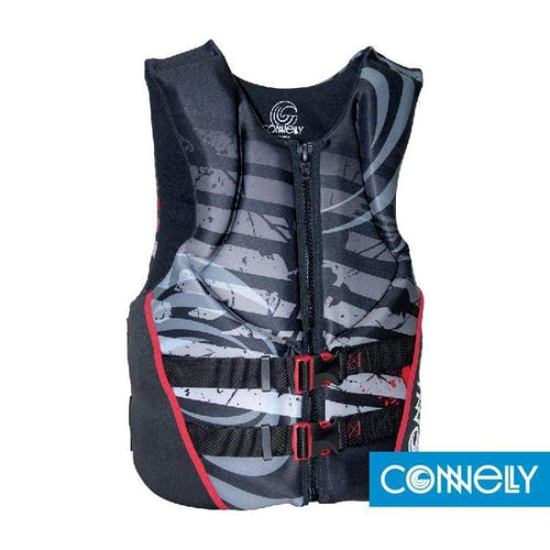 Lifevests / Approved: Connelly Mens U-Hinge Neo 2016 - M / Black / Connelly / 2016 Black Connelly Gear Lifevests / Approved |