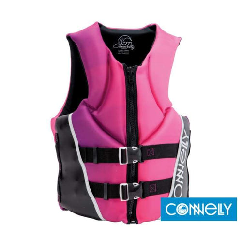 Lifevests / Approved: Connelly Womens Aspect Neo 2016 - 2016 Black Connelly Gear Lifevest