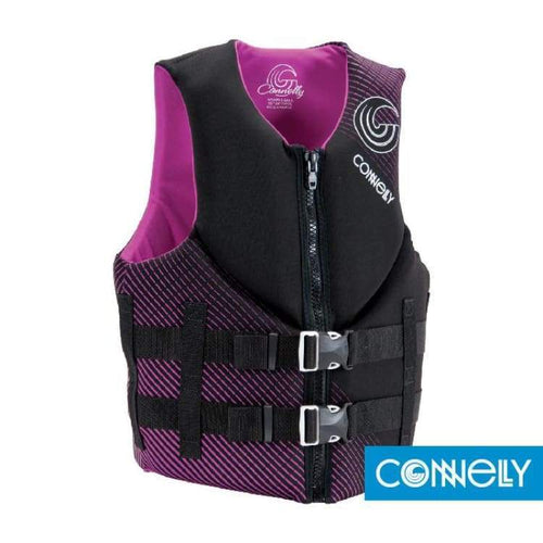 Lifevests / Approved: Connelly Womens Promo Neo 2016 - L / Black / Connelly / 2016 Black Connelly Gear Lifevests / Approved |