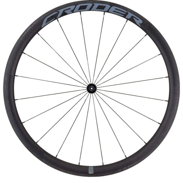 Bike Wheels: Croder Rwc 38 Carbon Wheelset - Croder / Bike Wheels Cycling Gear Kc Sports Services | Ochk-Kcsports-Croder-Rwc38Carbonwheelset