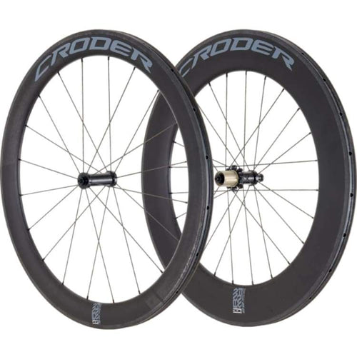 Bike Wheels: Croder Rwt 58X Carbon Wheelset - Croder / Bike Wheels Cycling Gear Kc Sports Services |