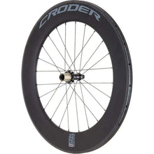 Bike Wheels: Croder Rwt 88 Carbon Wheelset - Bike Wheels Cycling Kc Sports Services