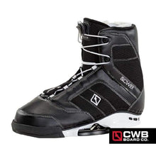 Wakeboard Boots / Bindings: Cwb Cobra 2016 - Black/white - Cwb / 10-11 / Black/white / Black/white Cwb Gear Mens On Sale |