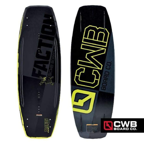Wakeboards: Cwb Faction Wakeboard - 2015 - Cwb / 138 / 2015 Cwb Gear Mens On Sale | Occn-Whiteline-62154026