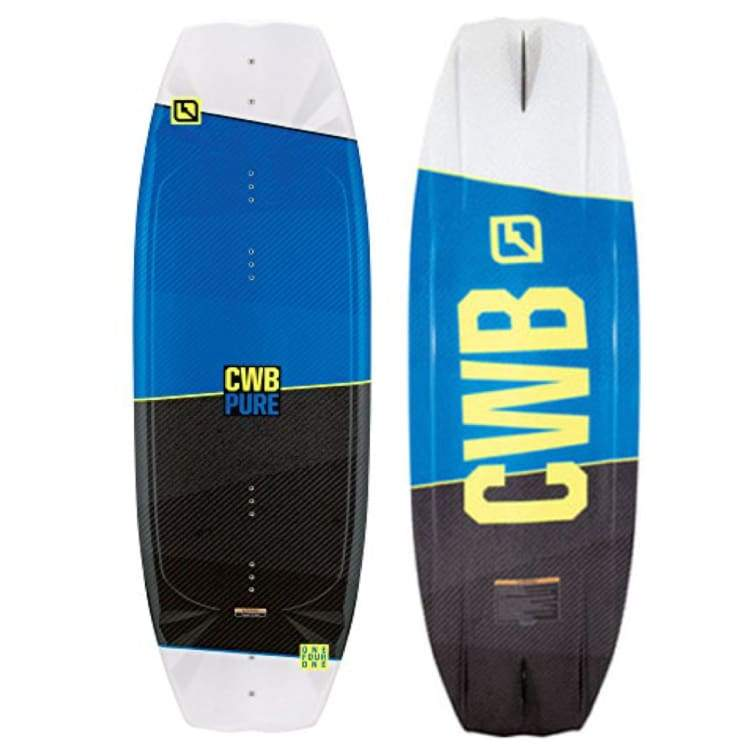 Wakeboards: Cwb Pure Blank W/fin Wakeboard 17 -134 - Cwb / 134 / Blue / 2017 Blue Cwb Gear On Sale | Occn-Whiteline-62174259