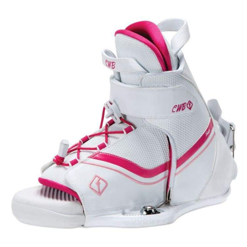 Wakeboard Boots / Bindings: Cwb Sage 2015 - White/red - Cwb / 7-9 / 2015 Cwb Gear On Sale Wakeboard Bindings | Occn-Whiteline-64152753