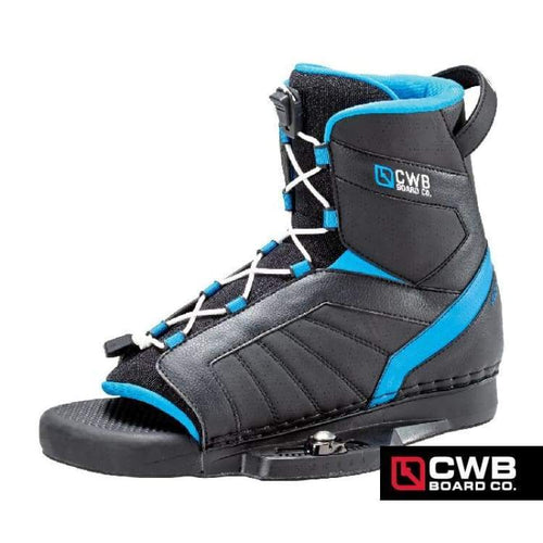 Wakeboard Boots / Bindings: Cwb Venza 2015 - Black/blue - Cwb / 12-14 / Black/blue / Black/blue Cwb Gear Mens On Sale |