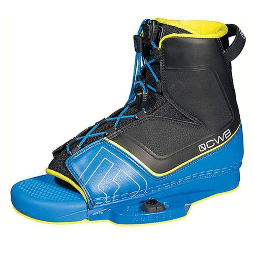 Wakeboard Boots / Bindings: Cwb Venza 2017 - Blue - 9-12 / Cwb / Black/blue / 2017 Black/blue Cwb Gear On Sale | Occn-Whiteline-64172739
