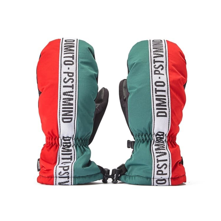Gloves & Mittens / Snow: DIMITO N TAPE MITTEN-GREEN - Dimito / GREEN / S / 1920 Accessories CY190504-D Dimito Gloves |