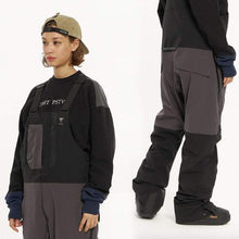 Pants / Snow: DIMITO NXL OVERALL PANTS-BLACK [KOREAN BRAND] - 2021, BLACK, Clothing, DIMITO, Ice & Snow | DM202101BLKXS