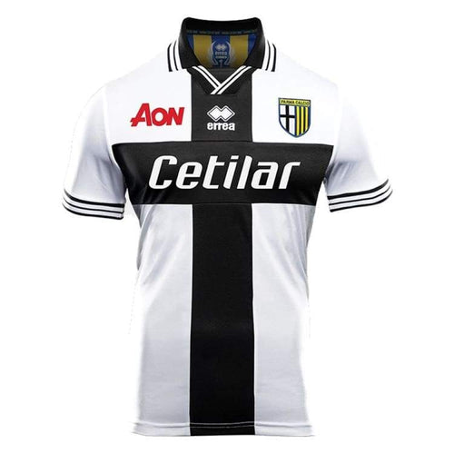 Jerseys / Soccer: Errea Parma Calcio 1913 18/19 (Home) Jersey - Errea / S / Black/white / 1819 Black/white Clothing Errea Home Kit |