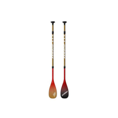 Sup Paddles: Fanatic Bamboo Carbon 50 3-Pieces Paddle - 165 - 220 Cm / Red / Fanatic / Fanatic Gear On Sale Red Sup | Ochk-Windshop-Sp16028