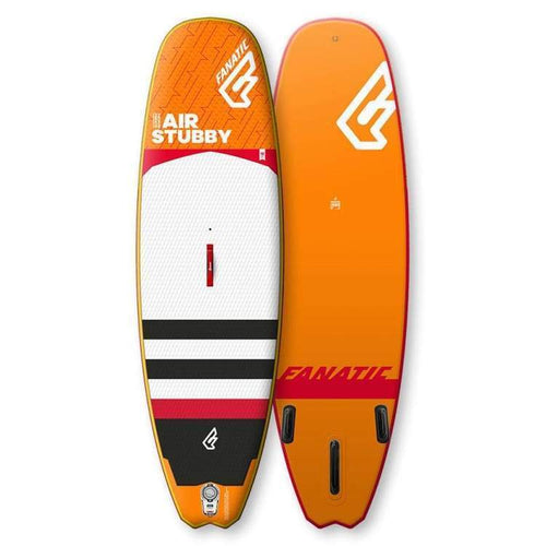 Sup Boards: Fanatic Stubby Air - Wave - Fanatic Gear On Sale Orange Sup