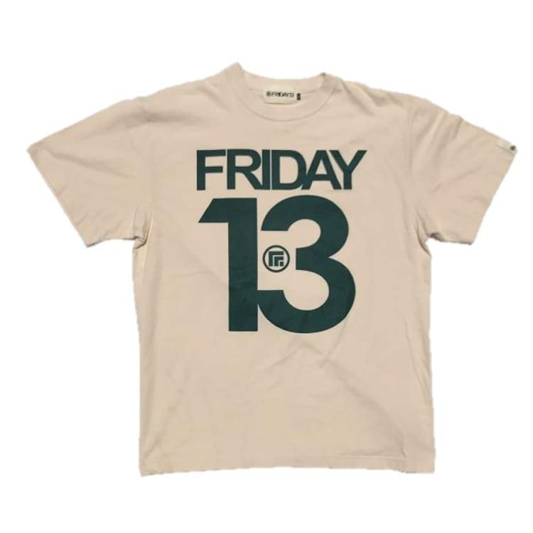 Tees / Short Sleeve: Friday 13 Big13 Tee - Natural - Friday.13 / Natural / L / Clothing Friday.13 Ice & Snow Land Mens |
