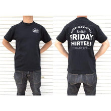 Tees / Short Sleeve: Friday 13 Speed-Flow Tee - Black - Black Clothing Friday.13 Ice & Snow Land