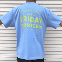 Tees / Short Sleeve: Friday 13 Speed-Flow Tee - Sax - Clothing Friday.13 Ice & Snow Land Mens