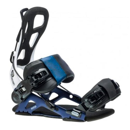 Snowboard Bindings: GNU PSYCH Snowboard Bindings FW1920 BLUE [Mens] - GNU / L / BLUE / 1920, BLUE, Gear, GNU, ICE & SNOW |