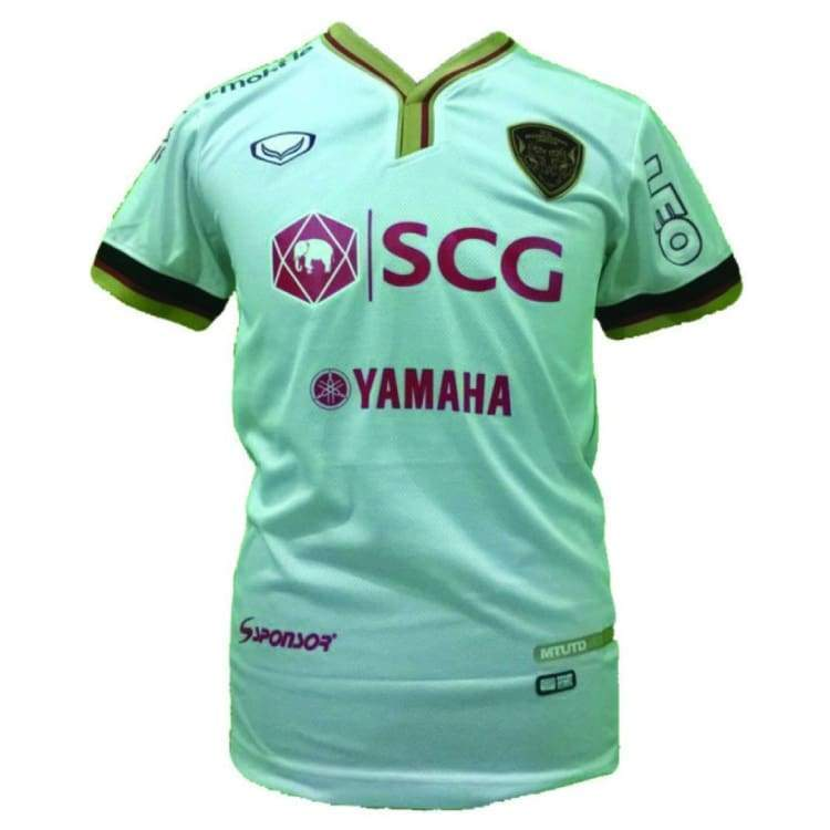 Jerseys / Soccer: Grand Sport Muang Thong United 14/15 Away S/s Jersey Sstha01140A - S / Grand Sport / 1415 Away Kit Clothing Football Grand