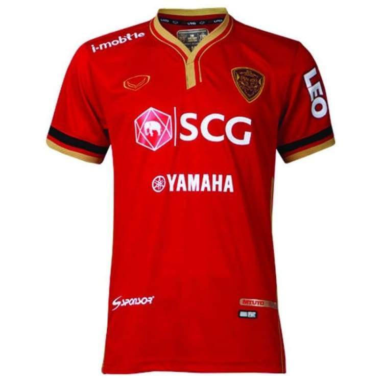 Jerseys / Soccer: Grand Sport Muang Thong United 14/15 Home S/s Jersey Sstha01140H - Grand Sport / S / Red / 1415 Clothing Football Grand
