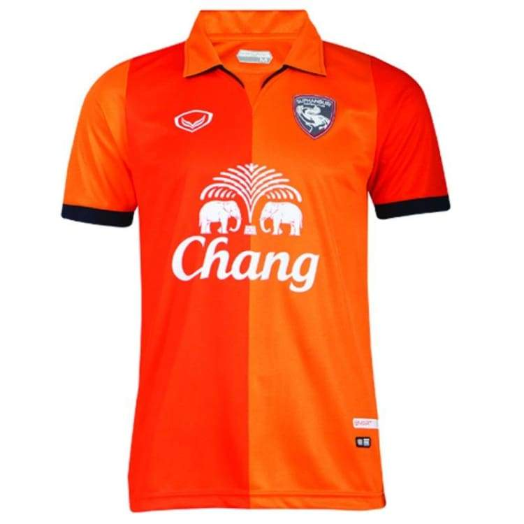 Jerseys / Soccer: Grand Sport Suphanburi Fc 14/15 Away S/s Jersey Sstha02140A - Grand Sport / S / Orange / 1415 Clothing Football Grand