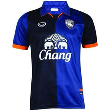 Jerseys / Soccer: Grand Sport Suphanburi Fc 14/15 Home S/s Jersey - Grand Sport / S / Black/blue / 1415 Black/blue Clothing Football Grand