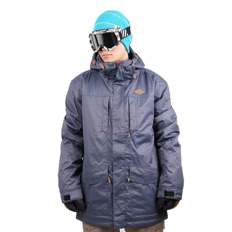 Jackets / Snow: Ifound Hemlock Jacket - Ombre Blue - L / Ifound / Blue / 1516 Blue Clothing Ice & Snow Ifound |